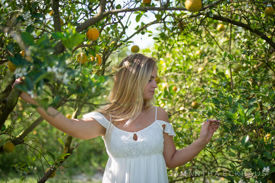 Orange Grove Senior Portraits