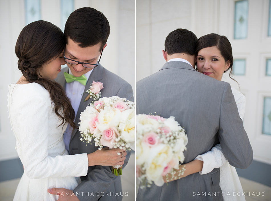 LDS Florida Temple Wedding