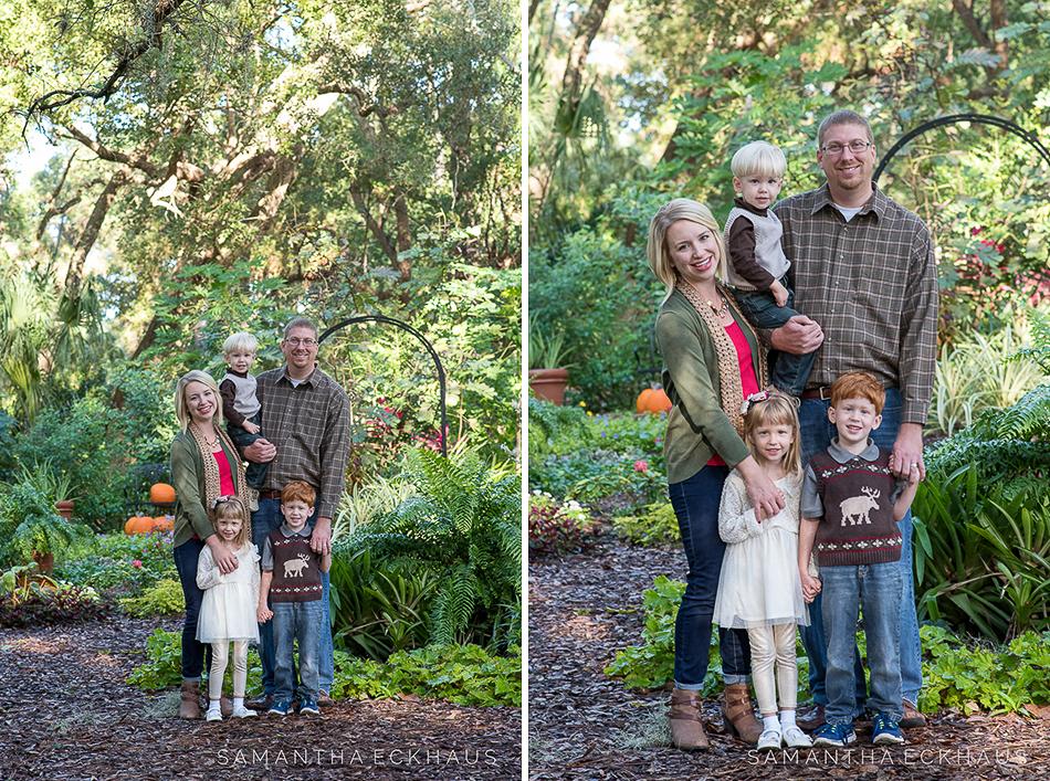 Mead Botanical Garden Family Session