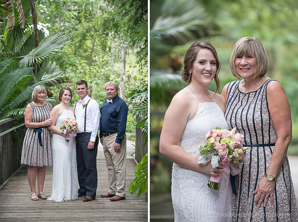 Leu Gardens Elopement Wedding