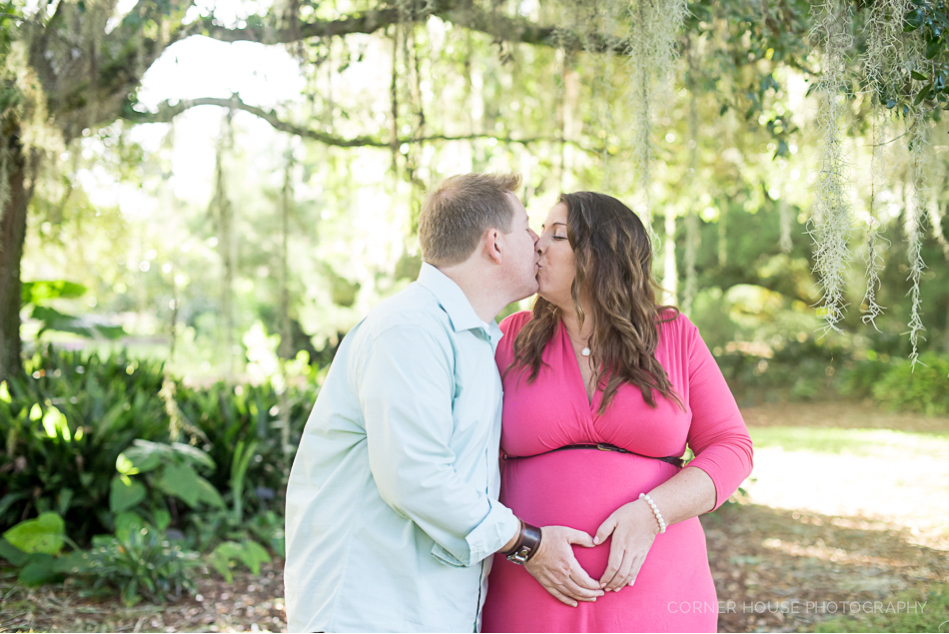Maternity Session Leu Gardens