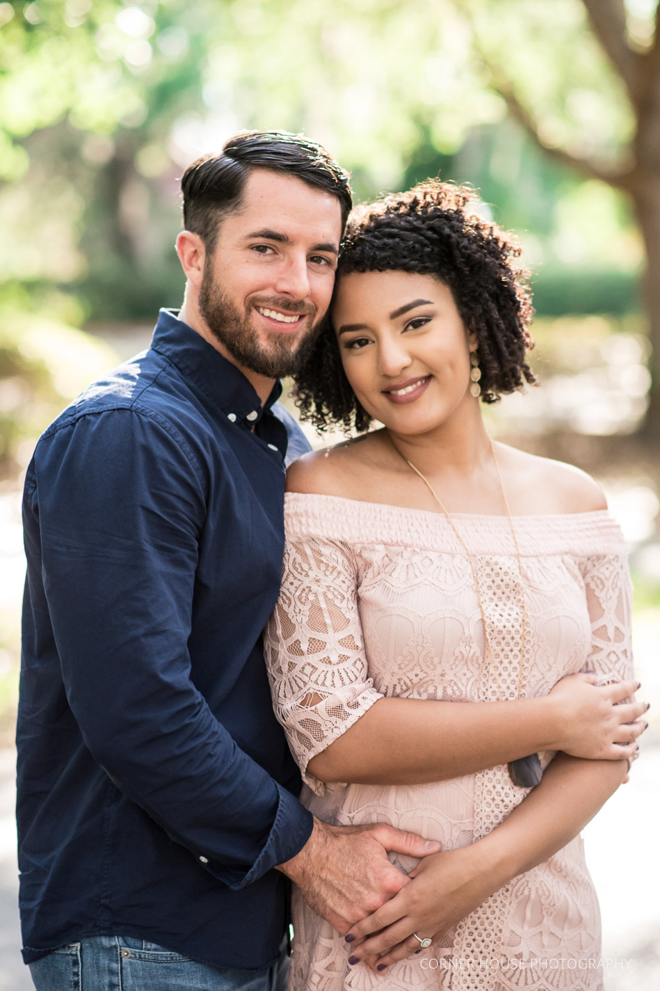 Cypress Grove Rose Garden Engagement