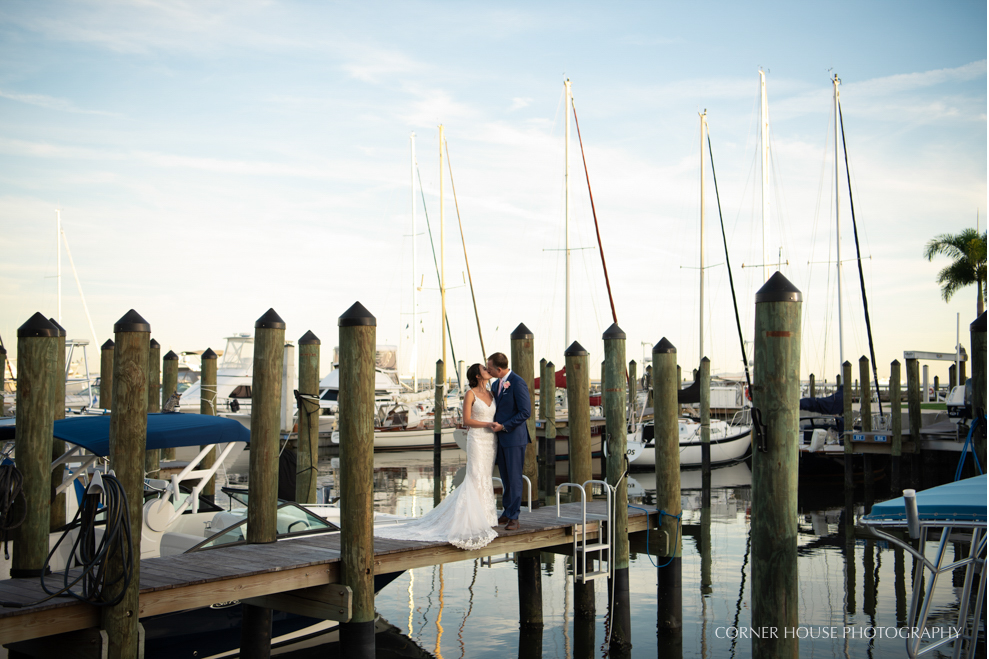 Tampa Yacht Club Wedding