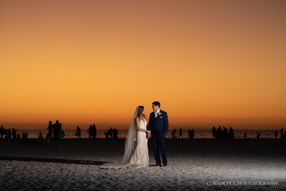 Golden Hour Sunset Blue Hour Wedding Photography